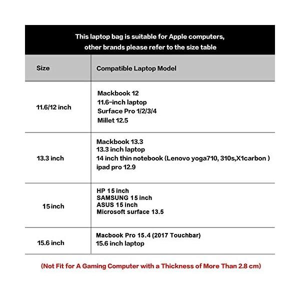 133-13-Inch-Laptop-Bag-Sleeve-Case-Messenger-Shoulder-Bag-Computer-Bag-Waterproof-Padded-Nylon-Shockproof-Notebook-Carrying-Case-for-MacBook-AirPro-Retina-MacBook-Pro-13Surface-ProNotebook-EKOOS