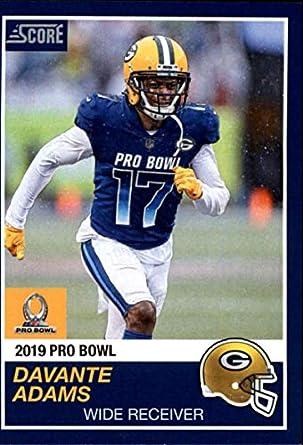 298d4e5f 2018 Panini Instant NFL Pro Bowl 1989 Score Design Football #24 Davante  Adams Green Bay