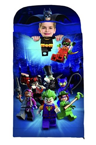 Batman Lego Costumes (LEGO Batman Hooded Slumber Bag)
