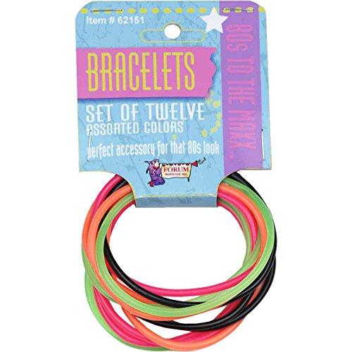 Forum Novelties 80s Bracelet Set