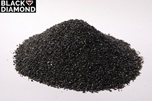 Black Diamond Abrasive Blast Media, Coal Slag, Coarse Grade, 10/40 Mesh Size (5 -