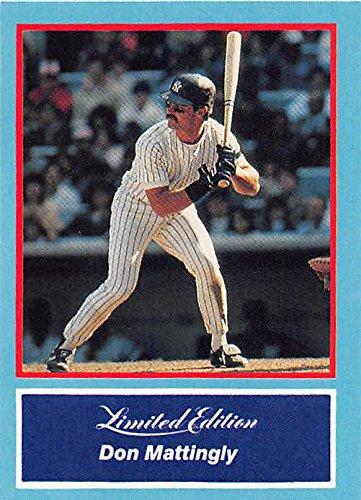 Don Mattingly baseball card (New York Yankees MVP) 1988 CMC #19 Batting Stance
