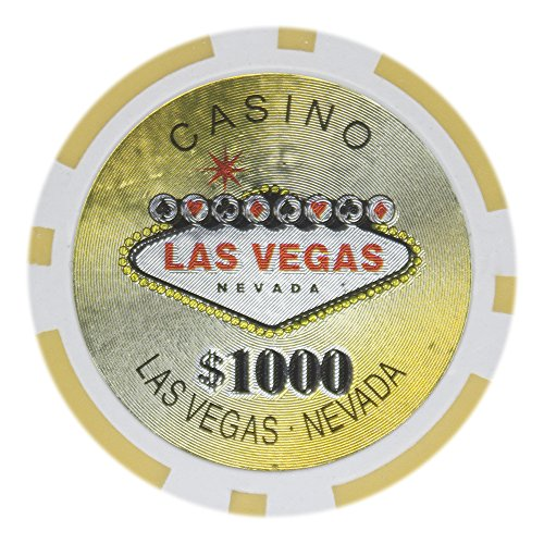 1000 14g clay poker chips - 4