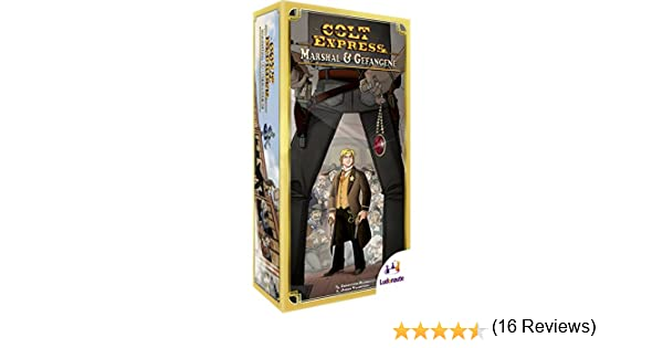 Ludonaute lud0001 – Colt Express – Marshal y Prisionero Parte y Puzzle: Amazon.es: Juguetes y juegos