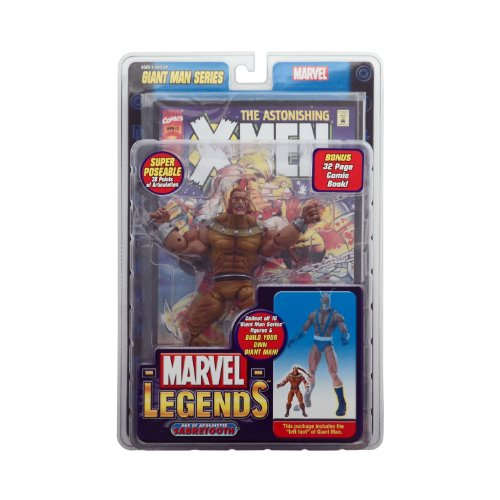 Marvel Legends Giant Man Series AOA Sabretooth Action Figure w/ Giant Man Builder Piece