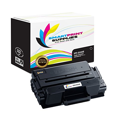Smart Print Supplies Compatible MLT-D203E Black Toner Cartridge Replacement for Samsung ProXpress SL-M3820 3870 4020 4070 Printers (10,000 Pages)