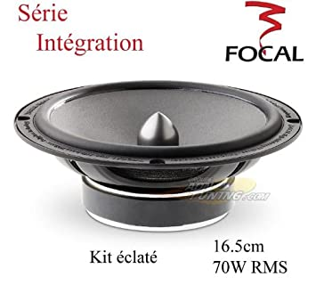 com is focal integration way component is165 focal integration 6 5 quot 2 way component speakers system
