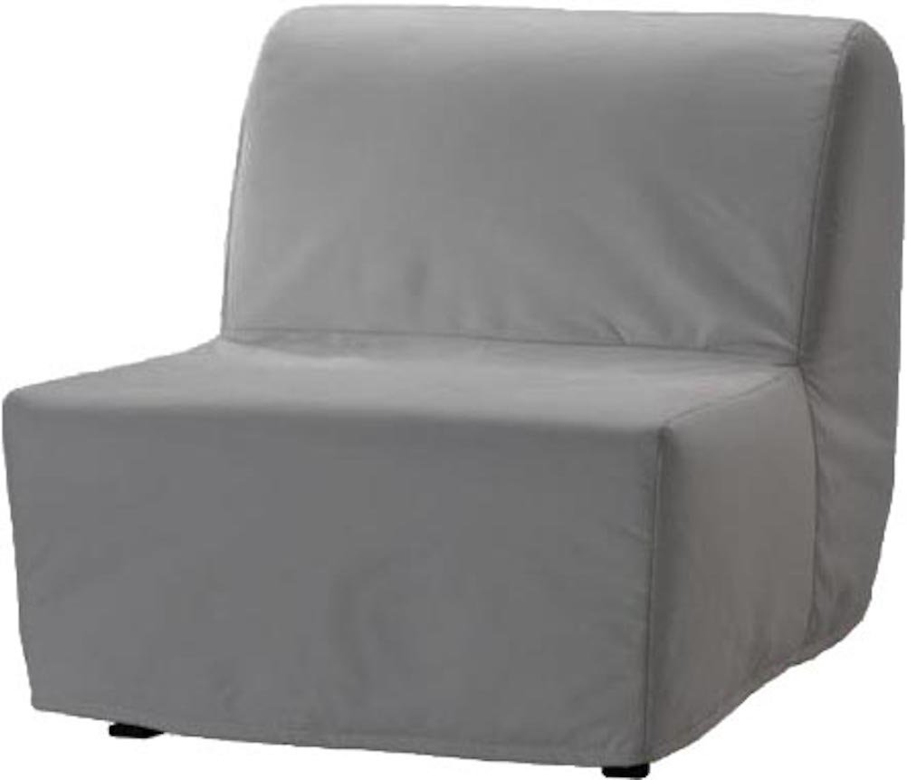 The Dense Cotton Lycksele Chair Bed Sofa Replacement is Custom Made for Ikea Lycksele Single Sleeper Or Futon. A Lycksele Slipcover Replacement (Light ...
