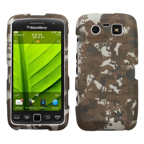 Lizzo Digital Camo/Yellow Phone Protector Faceplate Cover For RIM BLACKBERRY 9850(Torch), 9860(Torch) ()
