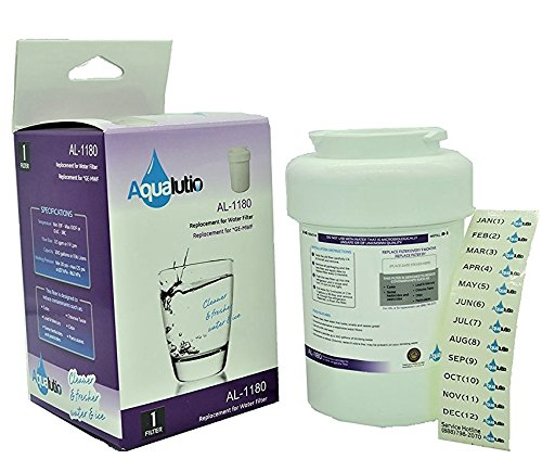 AQUALUTIO GE MWF Smart Water Compatible Water Filter Cartridge - (Brita Ge Mwf)