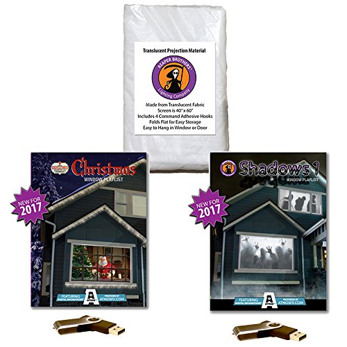 AtmosFEARfx Christmas and Halloween Digital Decorations Kit on USB stick includes Reaper Bros 40