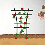 EcoTrellis Garden Mini Plant Plastic Trellis for Plant Climbing and Plant Pot Support, 5.9'' W x 9.8'' H, 2 Pack