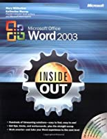 Microsoft Office Word 2003 Inside Out Front Cover