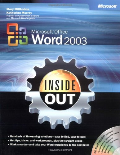 [PDF] Microsoft Office Word 2003 Inside Out Free Download | Publisher : Microsoft Press | Category : Computers & Internet | ISBN 10 : 0735615152 | ISBN 13 : 9780735615151