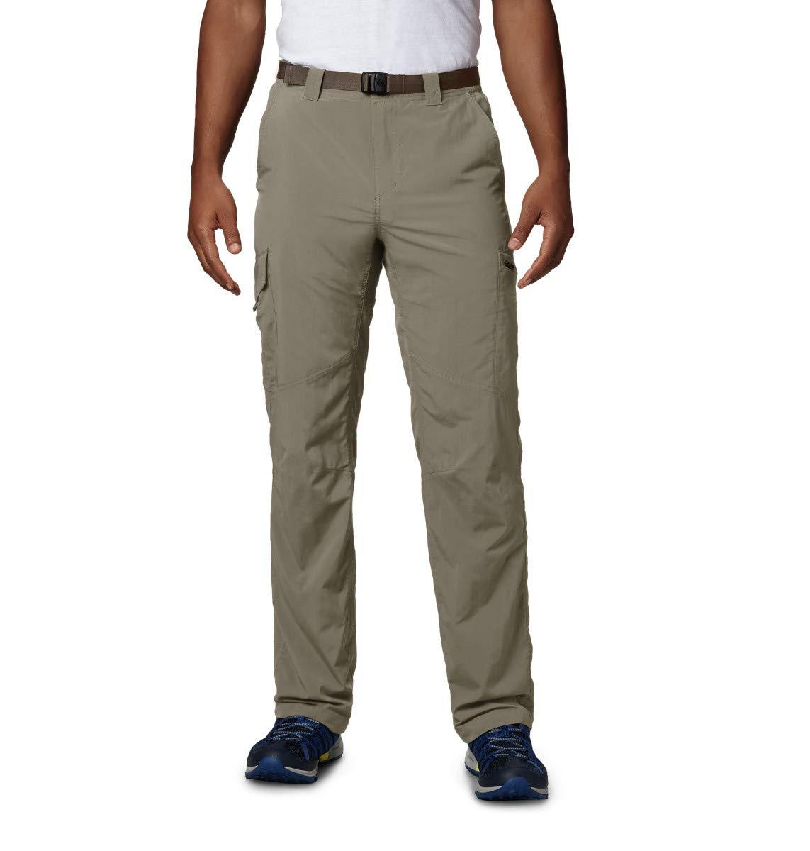 Columbia Men's  Men's Silver Ridge Cargo Pant , Tusk, 34x32 by Columbia