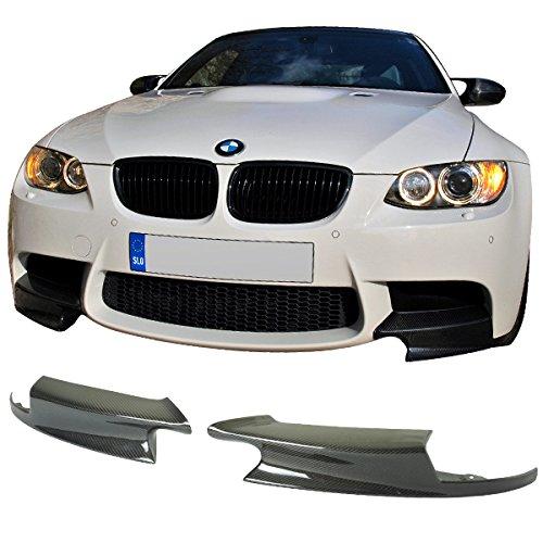 08-13 BMW E90 E92 E93 M3 Performance Style Front Splitters - Carbon Fiber CF (E90 Carbon Fiber Splitters compare prices)