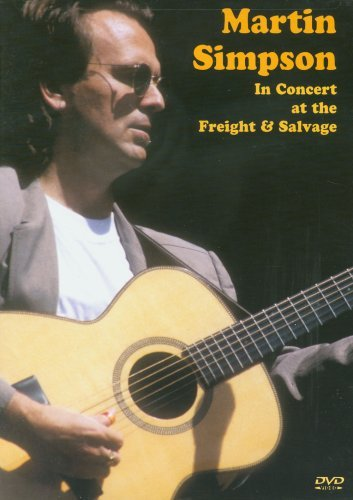 DVD : Martin Simpson - In Concert At The Freight And Salvage (DVD)
