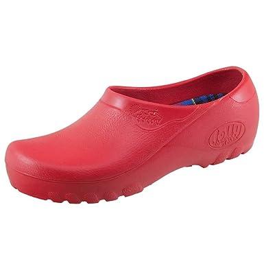 Jolly Clog Rot Damen Fashion Gr 42 BoOcfALJhQ