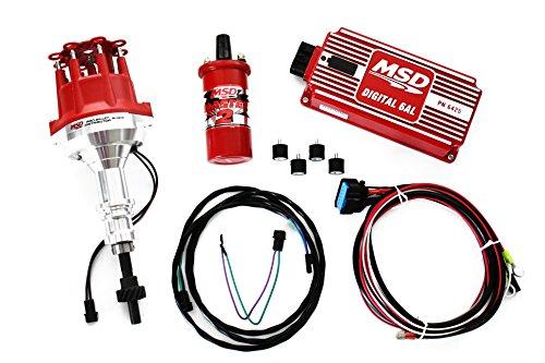 Distributors Msd Box Pro Billet - Ford 289 302 MSD Ignition 6AL Box w/Pro Billet Distributor & Blaster II Coil