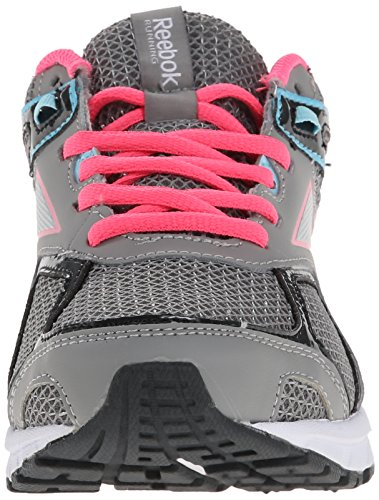 Reebok Quickchase las zapatillas de running Flat Grey/Gravel/Solar Pink/Blue Pool/Silver Metal