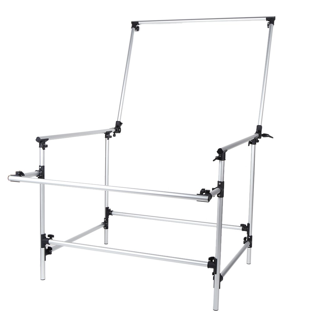 Andoer 100 x 200cm Photo Studio Photography Shooting Table for Still Life Product Shooting Aluminum Alloy Frame by Andoer (Image #4)