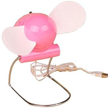 aksautoparts Mini USB Bullet Ventilador para PC, ordenador, portátil de escritorio Tablet Netbook, color rosa: Amazon.es: Oficina y papelería
