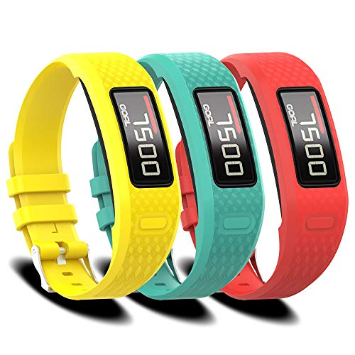 FUNKID Band for Garmin Vivofit 1/2 Smartwatch Wristbands Adjustable Straps Replacement