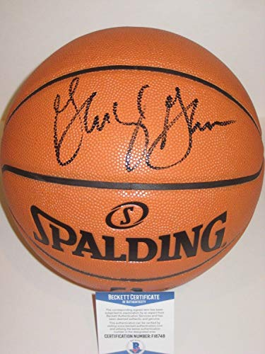 George Gervin San Antonio Spurs Autographed Spalding Basketball - Beckett Authentic