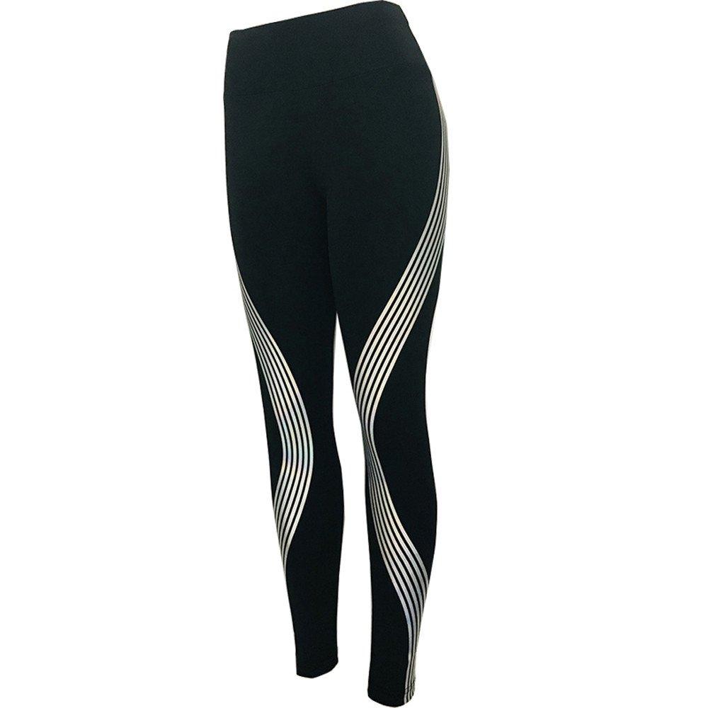 Yusealia Mujeres Ropa Leggins Mujer Fitness Yoga Pantalones Rutina De Estampado A Rayas Color Coincidente Cintura Media Pantalones De Flaco Correr Leggings Elá Sticos De Flaco Fitness Leggins Mujer …