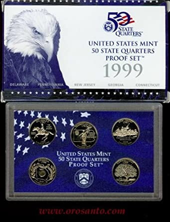 Mint Made STATE QUARTERS Proof Set in original BLUE box 2008  U.S
