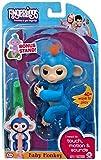 Toys : Fingerlings Baby Monkey - Boris - Blue (Includes Bonus Stand)