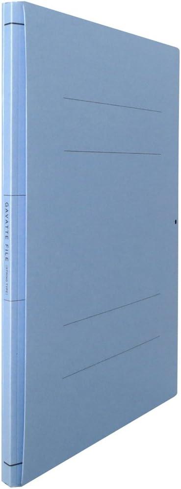 90B Kokuyo flat file moths bat file 2 hole A4 up to 1000-sheet blue off