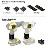 Spider Tool Holster - DUAL TOOL KIT - 5 Piece Set