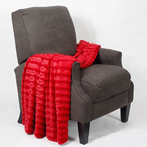 Home Soft Things Derby Throw Couch Cover Sofa Blanket, 50