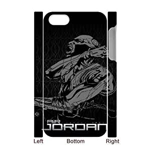 iphone4 4S 3D Cell Phone Case White Michael Jordan Plastic Durable Cover Cases derf6988047