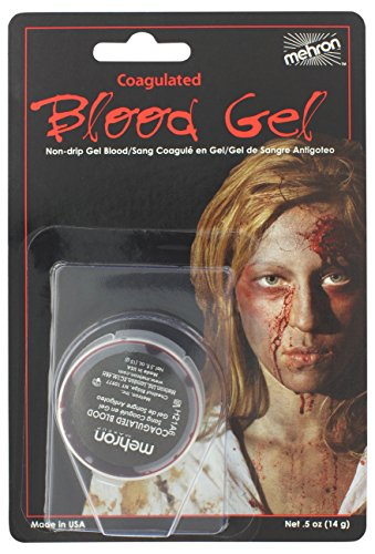 Mehron Makeup Coagulated Blood Gel for Special Effects| Hall