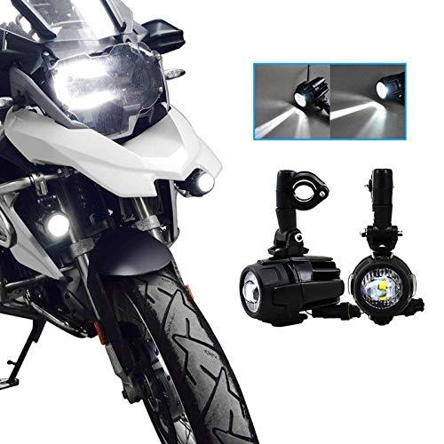 SUPAREE 2 Stks 40 W LED Auxiliary Lamp 6000 K Super Heldere Mistlamp Kits Led Verlichting Lampen DRL Voor Motorfiets…