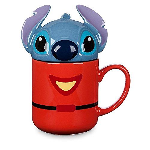 Disney Stitch Mug with Lid