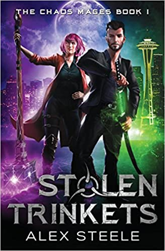 Amazon Com Stolen Trinkets An Urban Fantasy Action