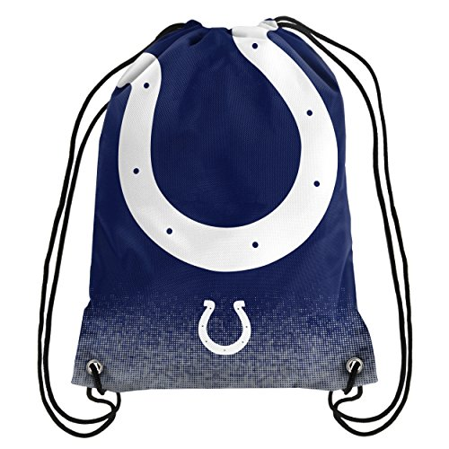 Forever Collectibles NFL Unisex Gradient Drawstring Backpackgradient Drawstring Backpack, Indianapolis Colts, Standard ()