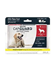 SENTRY Capguard (nitenpyram) Oral Flea Treatment Medication, ...