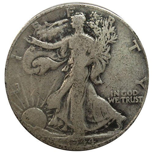 1944 D Walking Liberty Half Dollar 50c Average Circulated (Walking 1944)