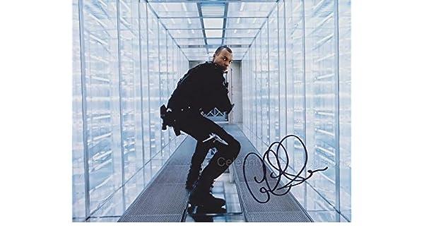Colin Salmon como James Shade – Resident Evil: retribución original autografa: Amazon.es: Hogar