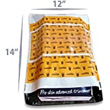 Amazon.in Branded Premium Polybag with Document Pouch (Size -14 Inches X 12 Inches, Count - 1000 Polybags)