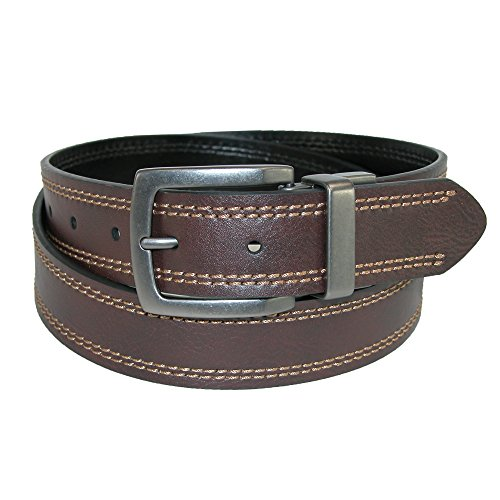 35 Mm Bridle (Dickies Men's 1 3/8 in. Reversible Bridle Belt With)