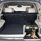 Pet seat cover, Konsait Water Proof Dogs seat Cover Bench,Pet seat Blanket for Car Hammock,Truck,Suv,Jeep.Non skid (Black)