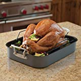 Nordic Ware Extra-Large Nonstick Roasting Pan & Rack (Oven/Stovetop Safe)