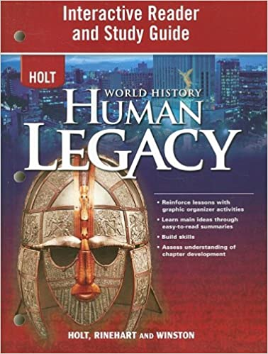 Amazon world history human legacy interactive reader and world history human legacy interactive reader and study guide 1st edition fandeluxe Images