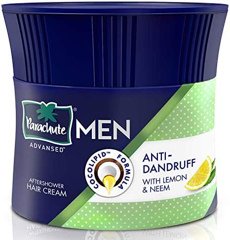 Parachute Advansed Aftershower Non Sticky Hair Cream Anti-Dandruff 100g ( Pack of 2)
