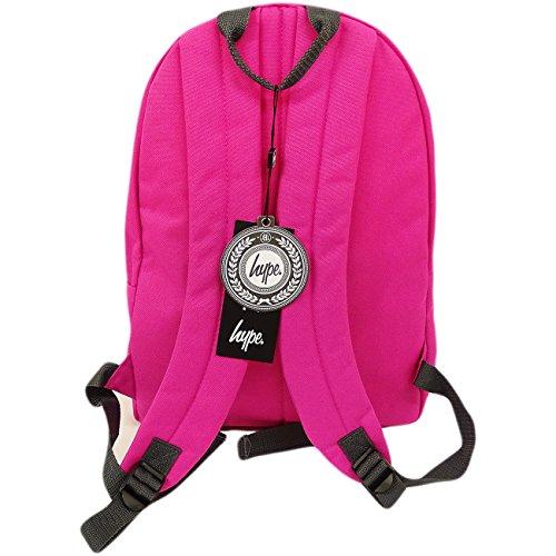 Just Hype Hype bag kit (Plain) - Bolso al hombro de Poliéster para hombre talla única rosa fucsia